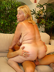 Very old granny still has enough juice left to fuck hard!