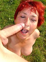 Grandma still loves to fuck and suck cock!