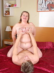 Big Amelia loves to suck and fuck her ass off