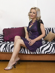 Horny housewife gets what she want