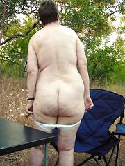Fat older women undressed for anybodys eyes