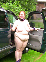 Fat mature female drivers who love to flash naked
